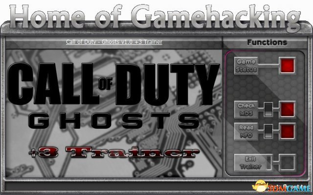 Call of Duty – Ghosts v1.1 Trainer  +3 [HoG]
