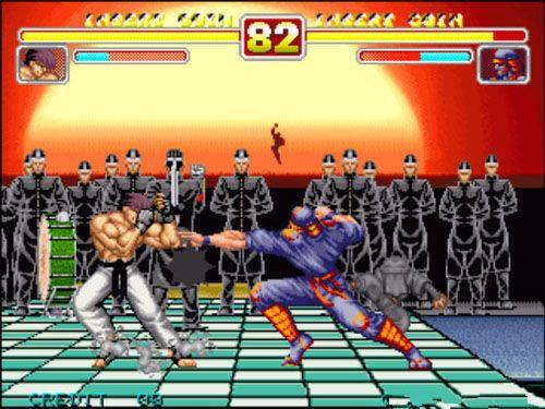 【游戏截图】; 豪血寺一族二代 - power instinct 2 英文版 游戏