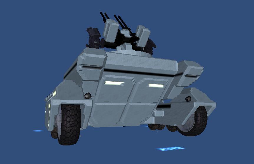 魔改科幻装甲车mod1载