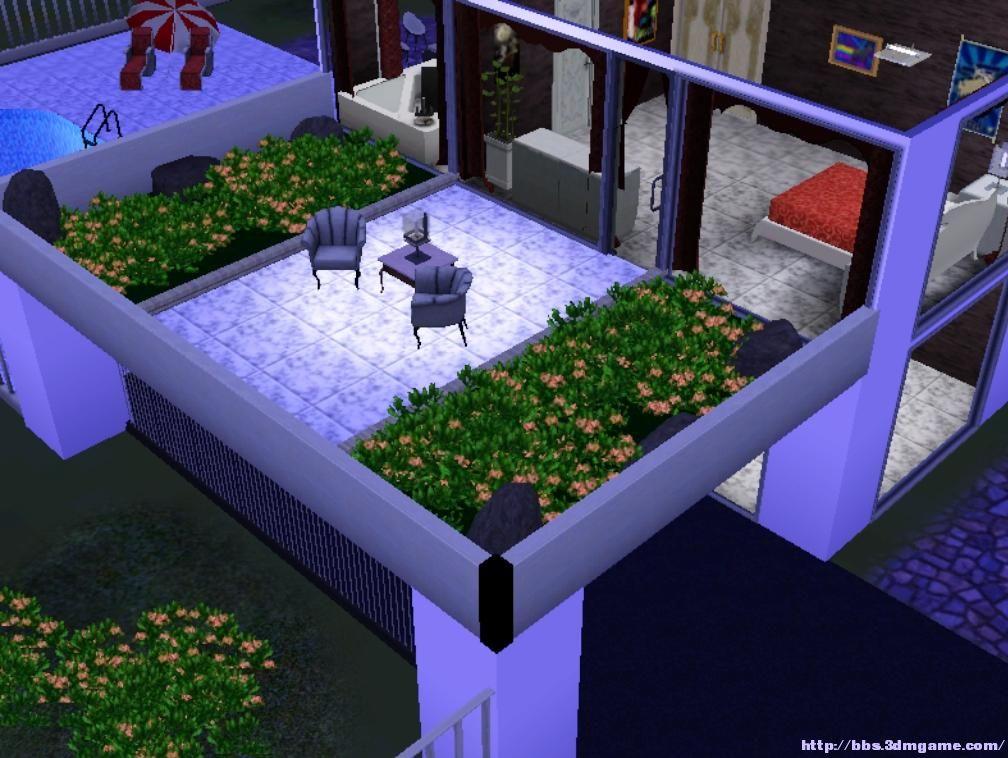 模拟人生3 建筑mod摩登别墅