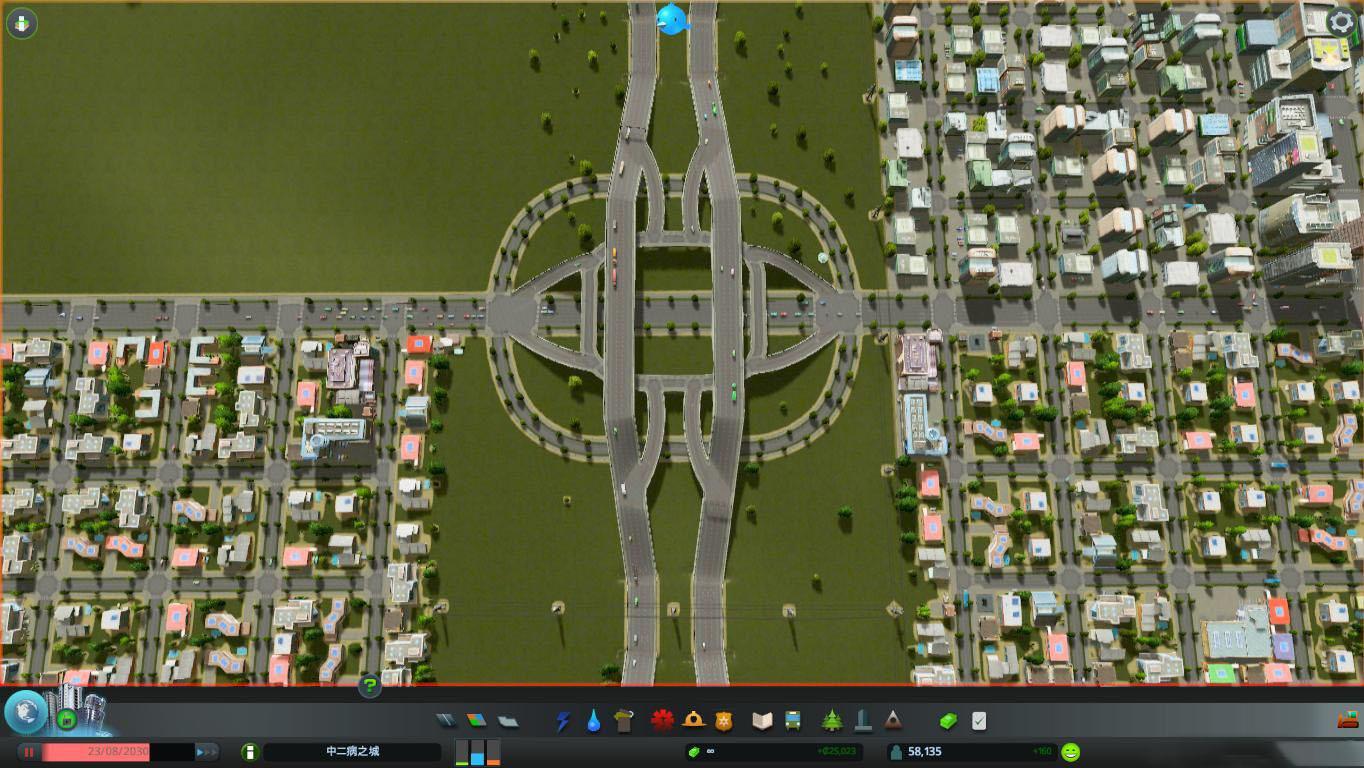 城市:天际线 高速公路环形出入口mod