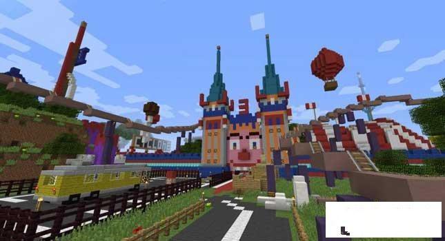 我的世界 小丑主题公园mod