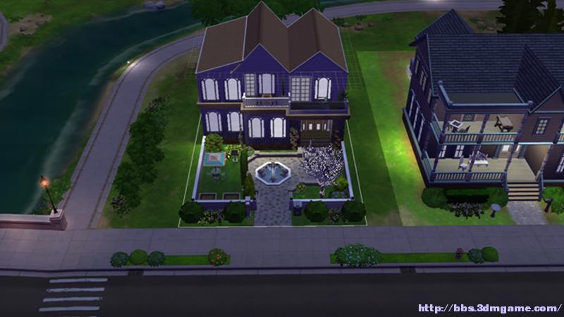 模拟人生4 小错层欧式花园洋房