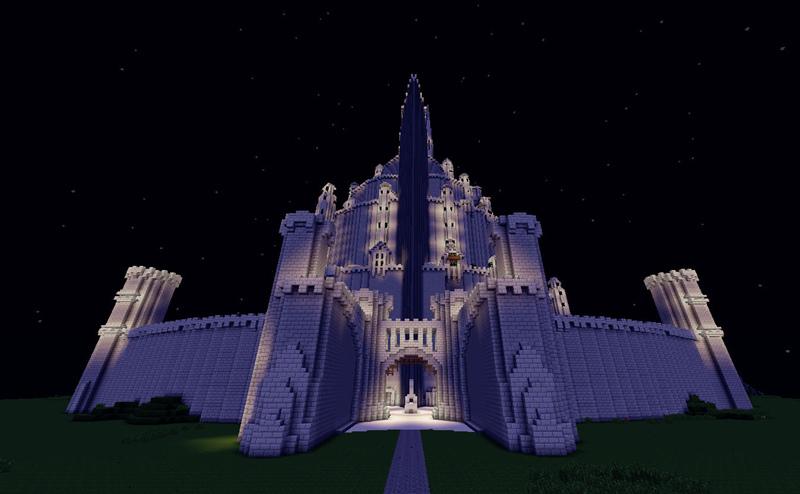 我的世界 米纳斯蒂里斯城堡地图