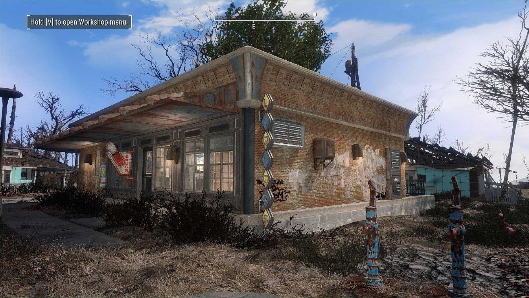 辐射4 漂亮的拼接建筑mod图片