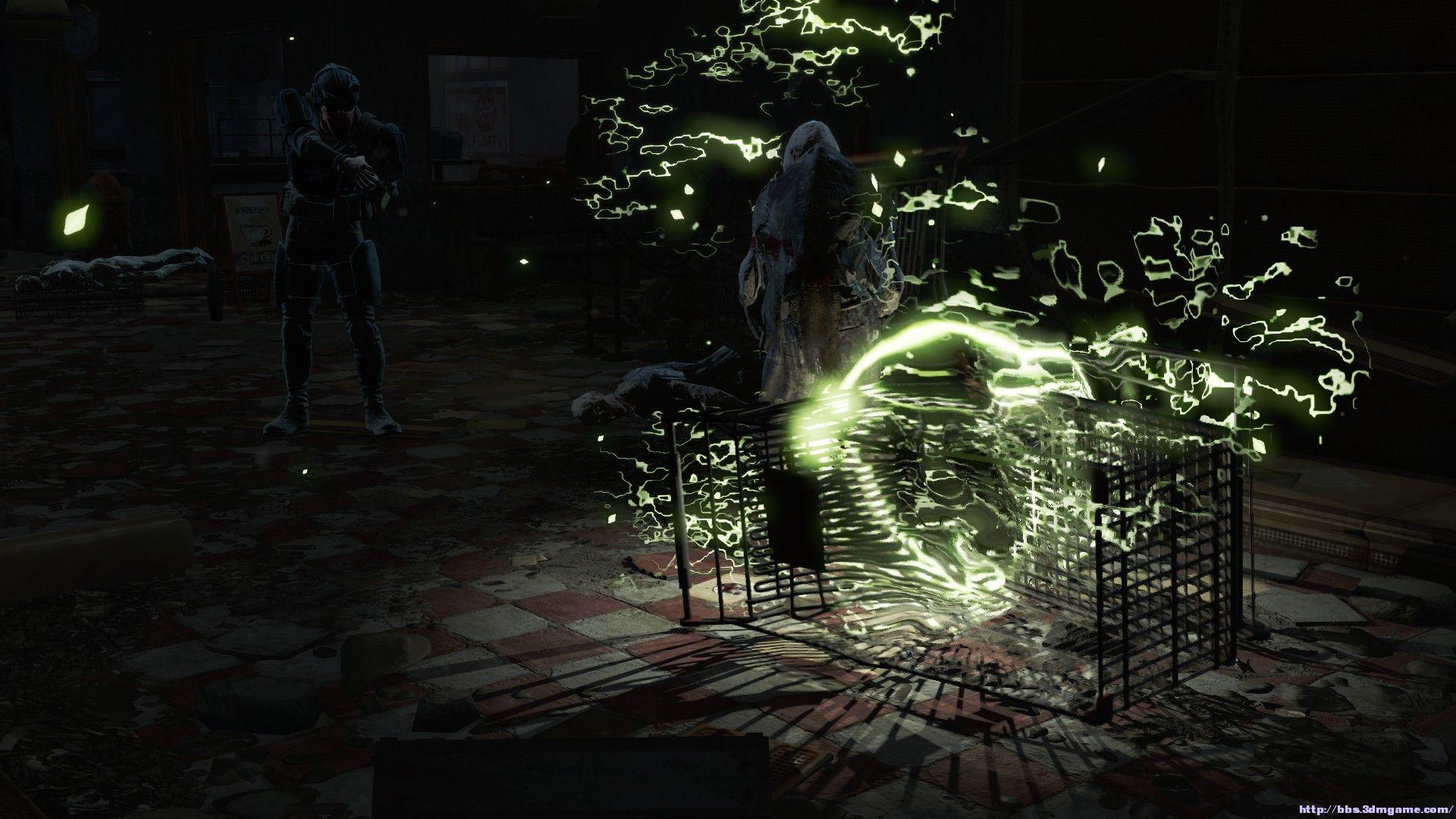 """资源说明: 辐射4 动态枪口火焰阴影MOD,由""""Troy Irving""""制作,这个MOD添加了动态的阴影,让你的枪口火光能够对物体造成影响,使它们产生光源指向性阴影,这让游戏看起来更真实,需要的玩家不要错过哦! 使用说明: esp丢data里,MOD管理器打钩.进游戏 截图:"""