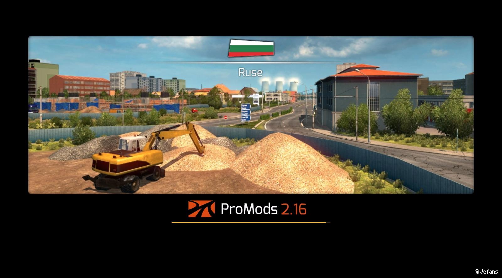 27 promods 地图 v2.17下载_欧卡2